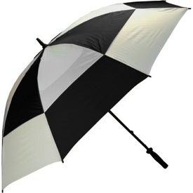 Advertising Wind Buster Golf Umbrella