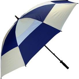 Imprinted Wind Buster Golf Umbrella