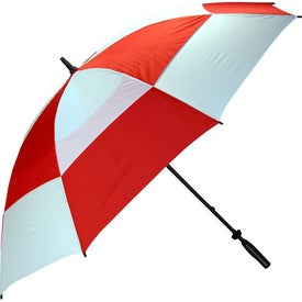 Imprinted Wind Buster Golf Umbrella