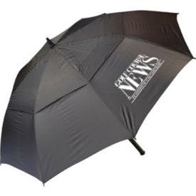 Monogrammed Windproof Golf Umbrella