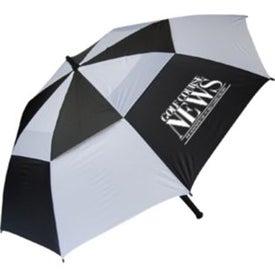 Windproof Golf Umbrella for Advertising