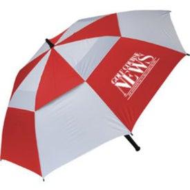 Imprinted Windproof Golf Umbrella