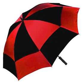 Wind Tamer Oversize Windproof Umbrella with Your Slogan