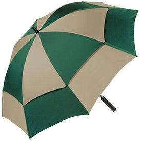 Logo Wind Tamer Oversize Windproof Umbrella