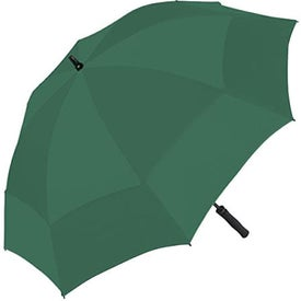 Wind Tamer Oversize Windproof Umbrella Printed with Your Logo