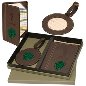 Woodbury Golf Scorecard/Round Golf Tag Set