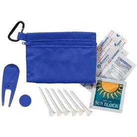 Woods Golf Kit in Zippered Bag