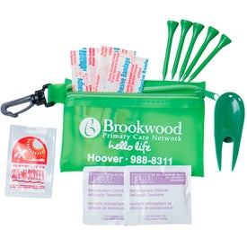 Zipper Tote With Clip Express Golf Care Kit