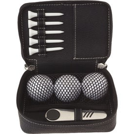Custom Zippered Golf Gift Kit - DT Solo