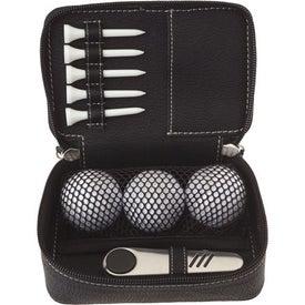 Custom Zippered Golf Gift Kit - DT Solo