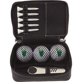 Logo Zippered Golf Gift Kit - DT Solo