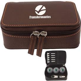 Monogrammed Zippered Golf Gift Kit - TF XL Dist