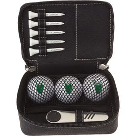 Zippered Golf Gift Kit - UltraUltDist Imprinted with Your Logo