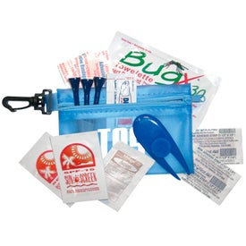 Zipper Tote with Clip Pro Golf Tournament Kit