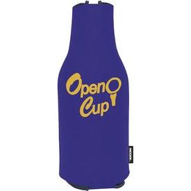 Branded Zip-Up Koozie Deluxe Golf Event Kit