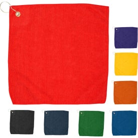 Hemmed Color Golf Towel