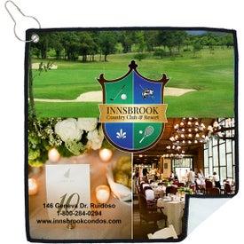 Tee Off Suede Golf Towel