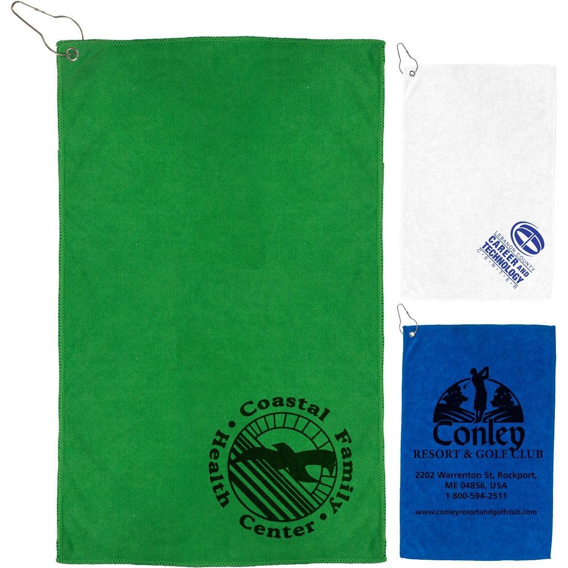 The Iron Heavy Duty Microfiber Golf Towel