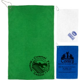 The Iron Heavy Duty Microfiber Golf Towel