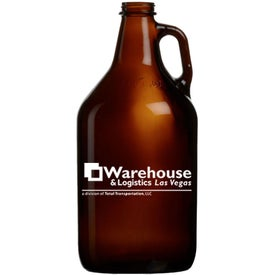 Amber Growler (32 Oz., Quick Ship)