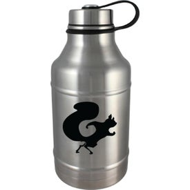 Double Wall Vacuum Insulated Stainless Steel Growlers (64 Oz.)