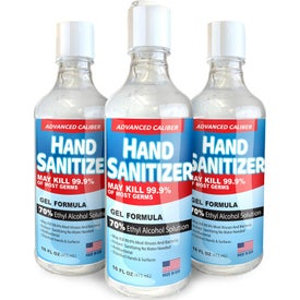 70% Alcohol Advanced Caliber Hand Sanitizer Gel (16 Oz.)