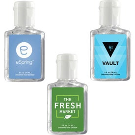 Clear Sanitizer in Clear Bottle (0.5 Oz.)