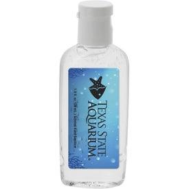 Clear Sanitizer in Oval Bottle (1 Oz.)