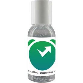 Clear Sanitizer in Round Bottle (1 Oz.)