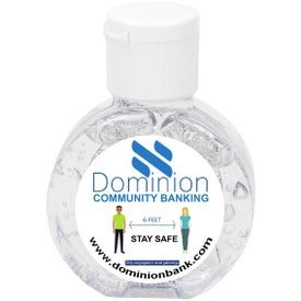 Compact Hand Sanitizer Gel (1 Oz.)