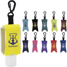 Custom Label Scented Hand Sanitizer with Leash (1 Oz.)