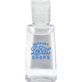 Flat Bottle Hand Sanitizer Gel (1 Oz.)