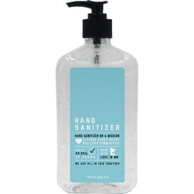 Hand Sanitizer Antibacterial Gel (18 Oz.)