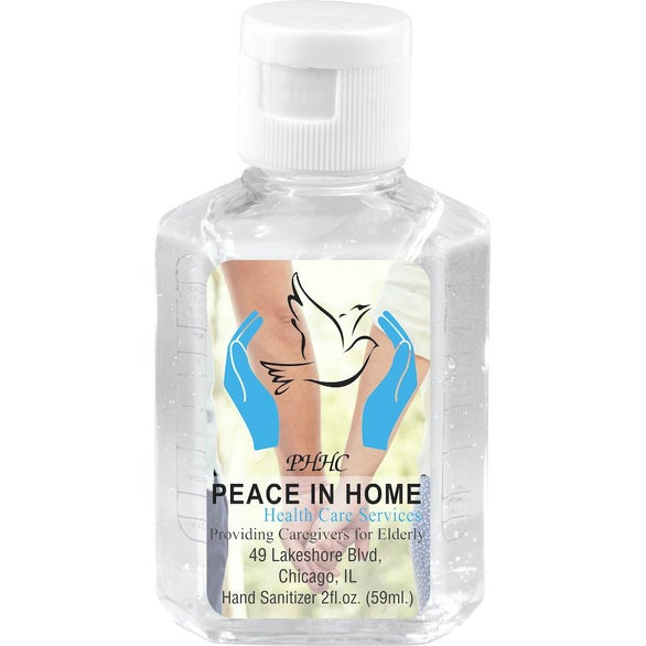 Clear Hand Sanitizer Antibacterial Gel
