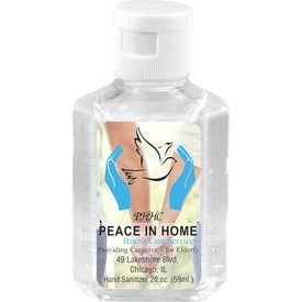 Hand Sanitizer Antibacterial Gel (2 Oz.)