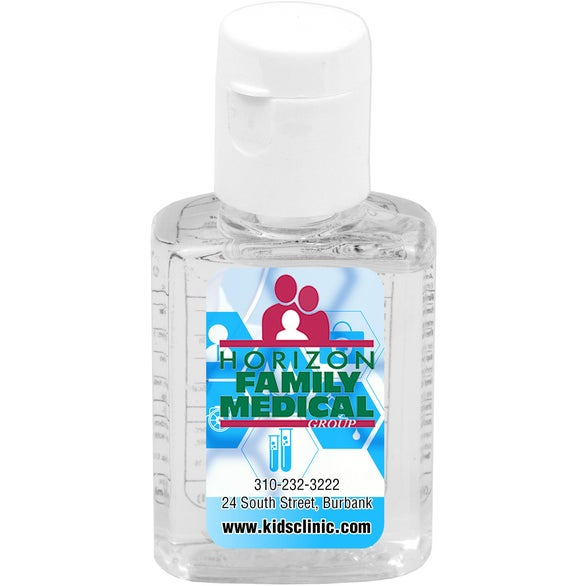 Clear Compact Hand Sanitizer Antibacterial Gel