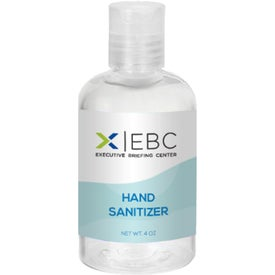 Hand Sanitizer Bottles (4 Oz.)