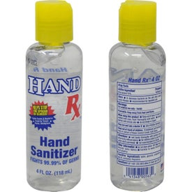 Hand Sanitizer Gel (4 Oz.)