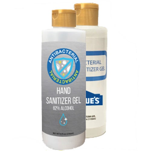White Hand Sanitizer Gel with 70% Alcohol