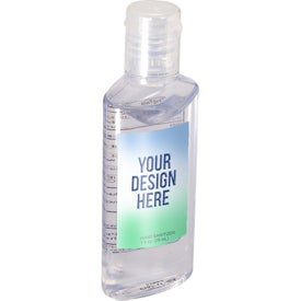Hand Sanitizer in Oval Bottle (1 Oz.)