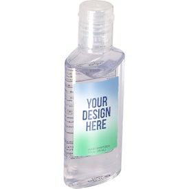 Hand Sanitizer in Oval Bottle (1 Oz.)