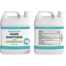 Gel Hand Sanitizer with Pump Dispensers (1 Gal.)