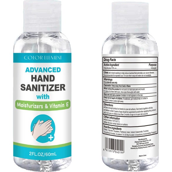 Clear Hand Sanitizer