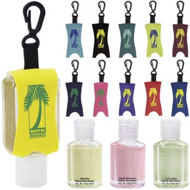 Hand Sanitizer with Leash (1 Oz., Scented)
