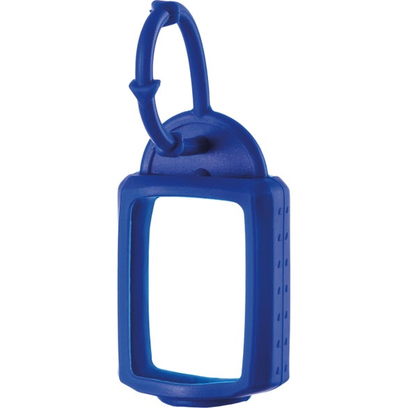 Blue Hand Sanitizer with Silicone Leash