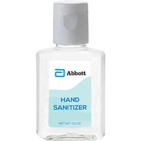 Mini Hand Sanitizer Bottles (0.5 Oz.)