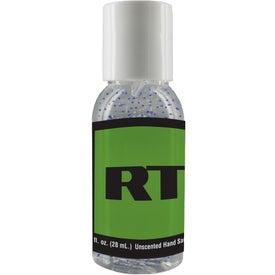 Moisture Bead Sanitizer in Clear Round Bottle (1 Oz.)