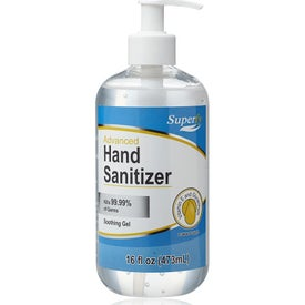 Pump Top Hand Sanitizer (16 Oz.)