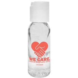 Round Bottle Hand Sanitizer Gel (1 Oz.)