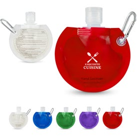 Round Collapsible Hand Sanitizer